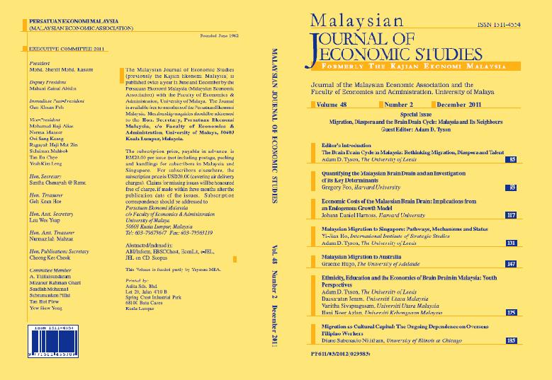 View Vol. 48 No. 2 (2011): December 2011