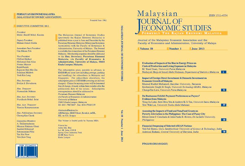 View Vol. 50 No. 1 (2013): June 2013