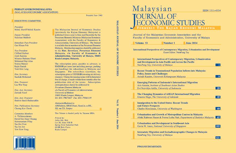 View Vol. 51 No. 1: June 2014
