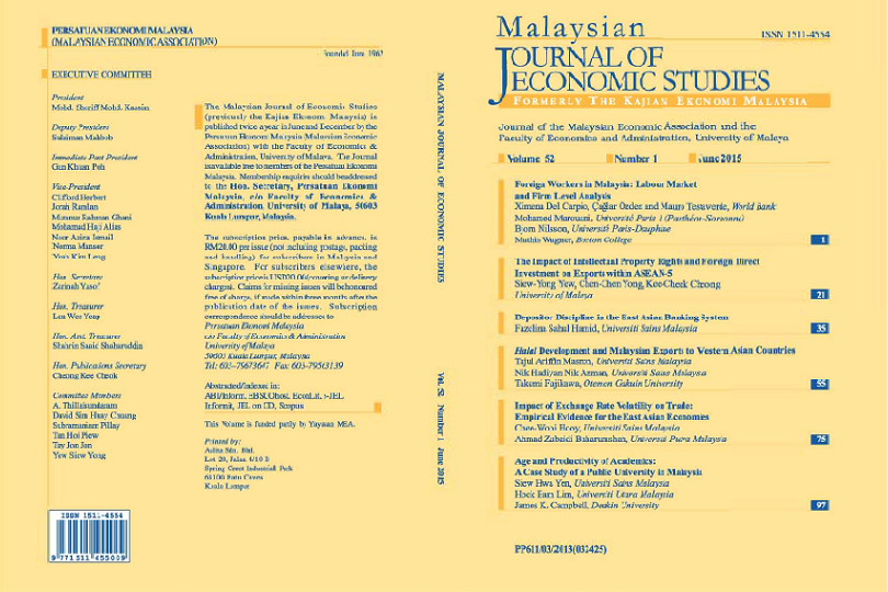 View Vol. 52 No. 1: June 2015